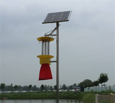 林芝县:利用杀虫灯提升蔬菜产品的安全质量