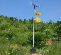 山区农用太阳能杀虫灯的应用
