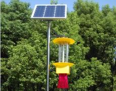 杀虫灯在温室花卉栽培中的作用