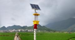 太阳能杀虫灯在绿色农业上的应用