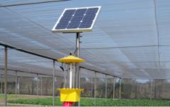 太阳能杀虫灯保障绿色食品安全
