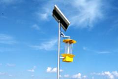 新农村建设应该普及推广太阳能杀虫灯