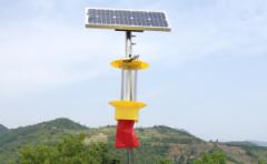 太阳能杀虫灯在山区应用中效果突出