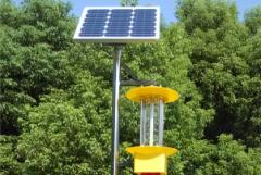 太阳能杀虫灯成为城市绿化新力量